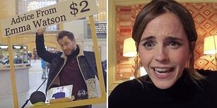 Emma Watson'dan İnsanlara 2 Dolara Tavsiye