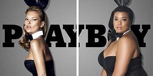 Yürek Hoplatan Playboy Güzellerinin Pozlarını Kilolu Kadınlar Taklit Ederse
