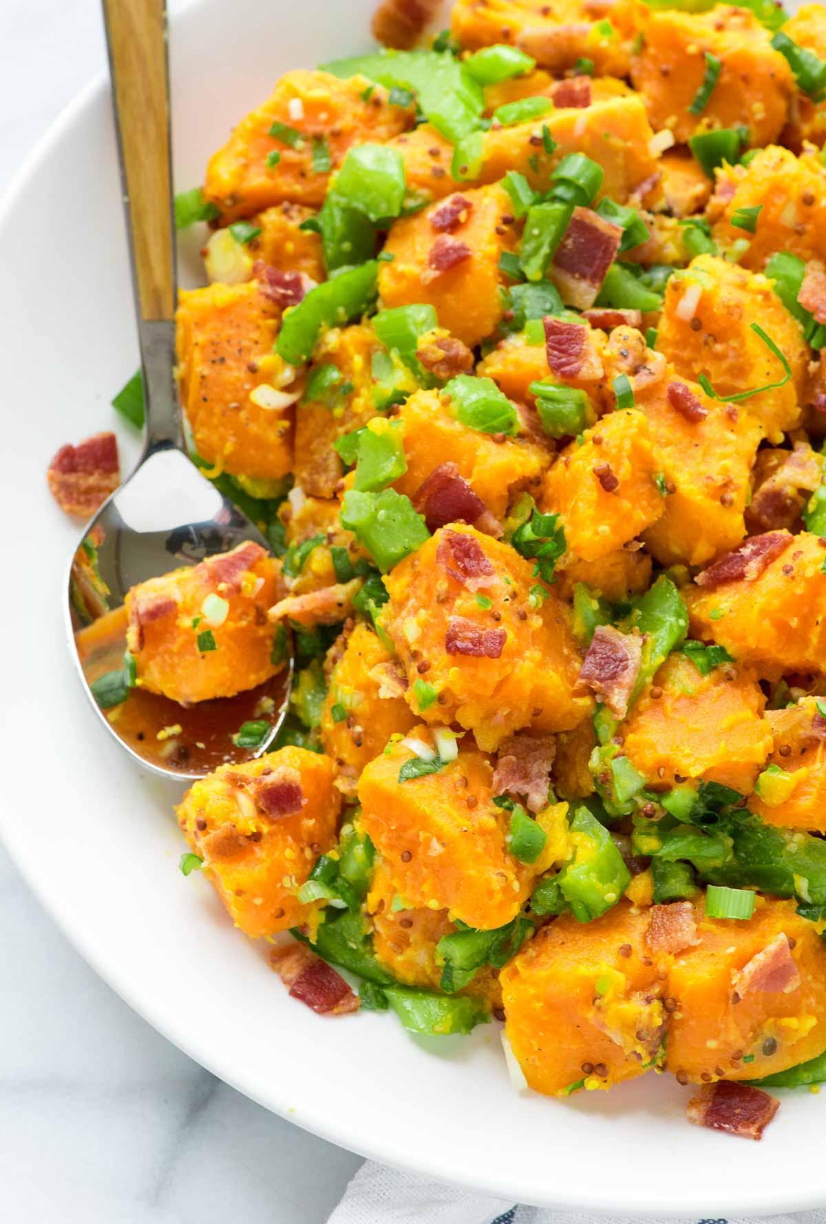 Klasik Patates Salatasından Sıkılanlara Birbirinden Leziz 12 Farklı Patates Salatası 37