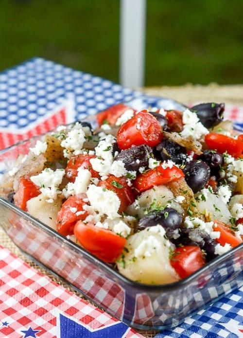 Klasik Patates Salatasından Sıkılanlara Birbirinden Leziz 12 Farklı Patates Salatası 95