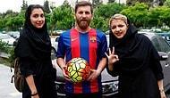 Messi'ye Olan İnanılmaz Benzerliğiyle 'Kaosa Neden Olduğu İçin'  Gözaltına Alınan İranlı Reza