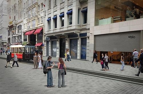 Şimdilerde Harabeyi Andırıyor: Çalışmaların Ardından İstiklal Caddesi Nasıl Görünecek 46