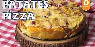 Patatesin En Güzel Hali Pizza Hali: Patatesten Pizza Nasıl Yapılır?