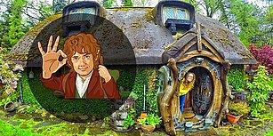 Bu Çok İyi! Dekorasyonundan Mimarisine Kadar Her Şeyiyle Gerçek Olan 'Hobbit' Evinden 24 Fotoğraf