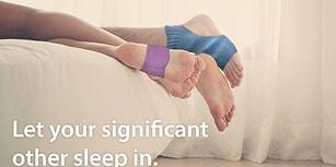 Bir Dünya Alarmınız Var Ancak Hala Uyanamıyorsanız Bir de Bu Alarm Çorabını Deneyin!