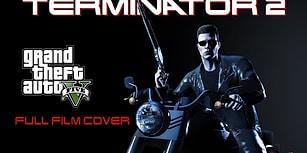 GTA 5'in İçinde Hazırlanan 1 Saatlik Terminator 2 Filmi!