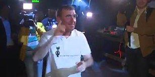 Galatasaray'ın Efsanesi Hagi'den Şampiyonluk Dansı