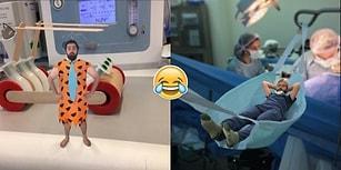 Yaptıkları Montajlarla Ameliyathaneyi Küçük Bir Şirinler Köyüne Çeviren Yaratıcı Doktorlar