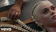 """Katy Perry'den Yine Sıra Dışı Bir Klip Daha """"Bon Appétit"""""""