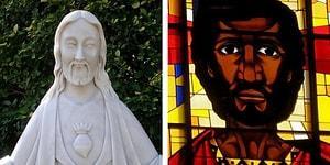 Farklı Kültürlerin Sembolü Olarak Dünyanın Dört Bir Yanından 13 Hz. İsa Tasviri