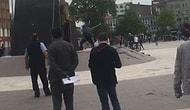Sakarya'da Atatürk Anıtına Baltayla Saldırı: Linçten Zabıta Ekipleri Kurtardı!