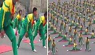 Çok Güzel! Çinli Öğrencilerin Basketbol Toplarıyla Yaptıkları Muazzam Gösteri