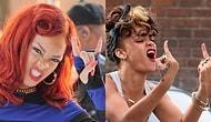 Standart Ünlü Triplerinin Yakınından Bile Geçmeyen Vahşi Güzel Rihanna'nın Atarlı Giderli Dünyası