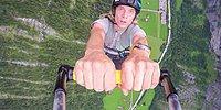 İsviçre Alplerinde Adrenalinin Dibine Vuran İnsanlar