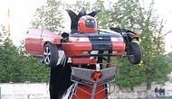 Çılgın Baba-Oğul Lada Marka Aracı Silahlı 'Transformers'a Dönüştürdü!