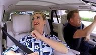 James Corden'la Carpool Karaoke'de Sıra Katy Perry'de!