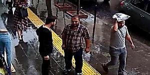 Çakma Kabadayı! 'Burada Böyle Yürüyemezsiniz' Dedi, Dayak Yiyince Kadına Saldırdı