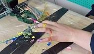 Simone Giertz Bu Defa da Kendisine Manikür Yapan Robot Geliştirdi