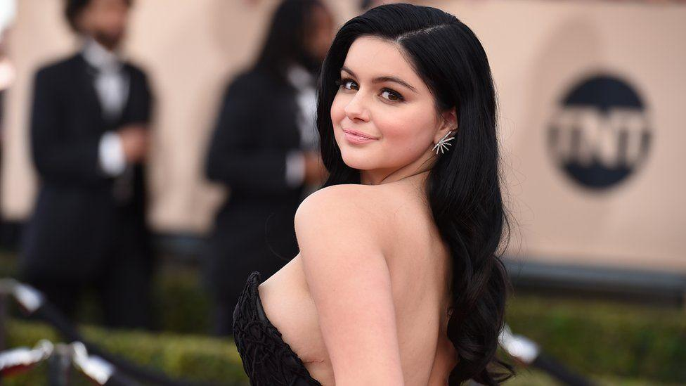 Actress showing their boobs