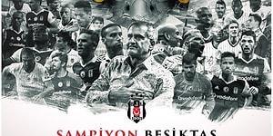 Beşiktaş'ın 15. Şampiyonluğu Sonrası Sosyal Medyada Yapılan 3 Yıldızlı 18 Paylaşım