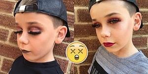 Herkesi Şaşırtan Makyaj Yeteneği ile İnternet Dünyasını Sallayan 10 Yaşındaki Jack
