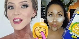 Vloggerların Makyaj Bağımlılıklarını Gereksiz Yere Uç Noktaya Taşıdıkları 18 Tuhaf An