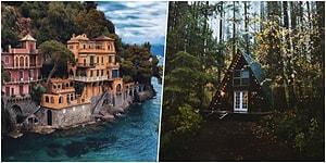Görünce Bir An Evvel Hayatınızın Emeklilik Kısmına Geçme İsteği Uyandıran 23 Dünya Harikası Ev