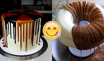 Birbirinden Lezzetli Pastalar Süslenirken Ortaya Çıkan 17 İzlemesi Aşırı Keyifli Görüntü