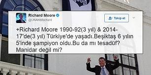 Beşiktaş'ın Şampiyonluklarıyla İngiliz Büyükelçi Richard Moore Arasındaki Tesadüfi Bağlantı