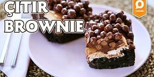 Brownie'nin Yeni Hali 3 Katlı! Çıtır Brownie Nasıl Yapılır?