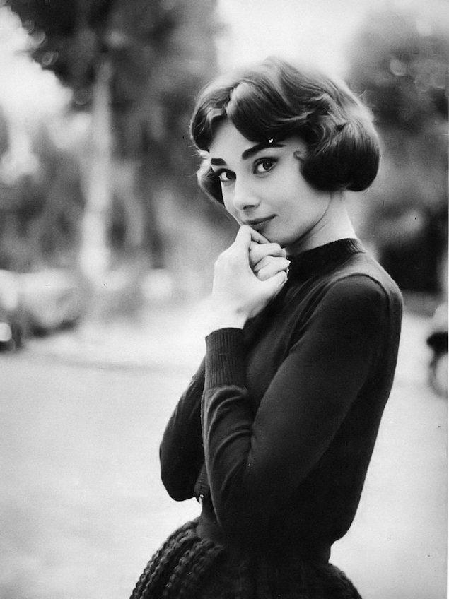 9. Audrey Hepburn