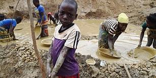 Kongo'da Çocuk Olmak: 1 Dolar İçin Çıplak Ayakla 12 Saat Mesai