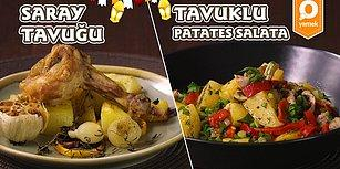 Aman Ziyan Olmasın! Saray Tavuğu ve Tavuklu Patates Salatası Nasıl Yapılır?
