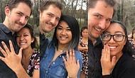 Facebook'un Şuursuzca Kullanıldığını Kanıtlamak İçin 7 Farklı Kişiyle Nişanlanan Adam!