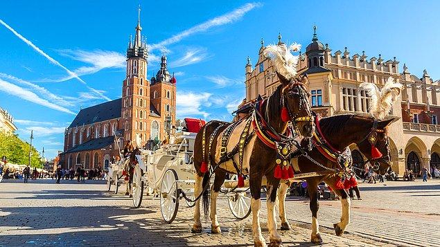 1. Krakow, Polonya