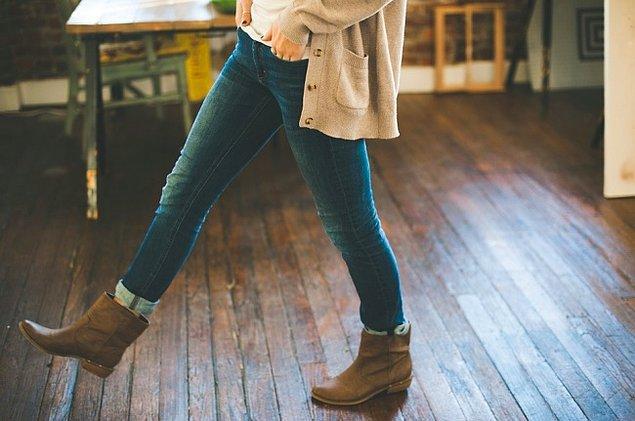 1. Dar pantolonlar