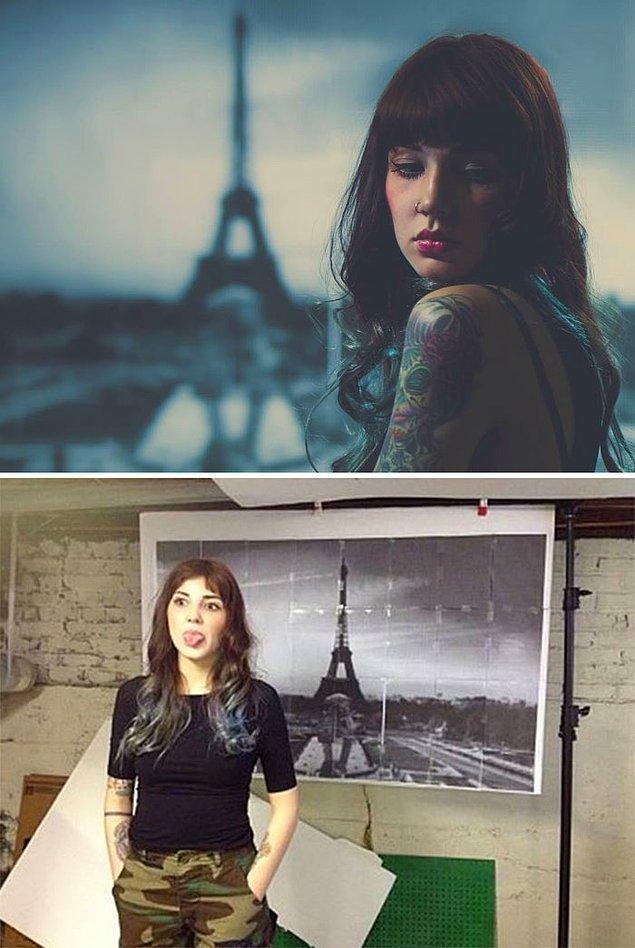 13. Paris'e gitmeye gerek kalmamış. 🤗