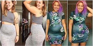 Güzellik Kalıplarını Bir Bir Yıkmaya Geliyorlar! İşte Instagram'ın Yeni Trendi 'Göbekli' Pozlar!