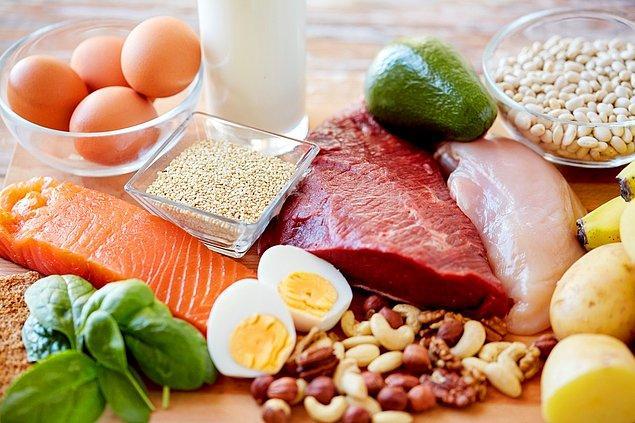 1. Proteinler daha uzun süre tok tutar.