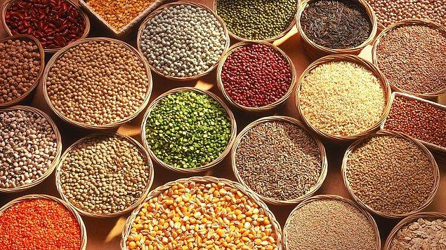 6. Tahıllar ve tohumlar da ihtiyacınız olan enerjiyi size verecektir.