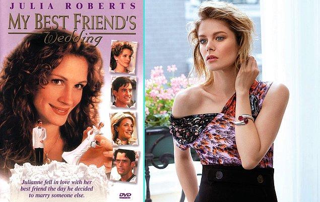 """15. Julia Roberts'lı """"En İyi Arkadaşım Evleniyor"""" filmi Türk sinemasına uyarlanıyor. Başrolde Burcu Biricik olacak."""
