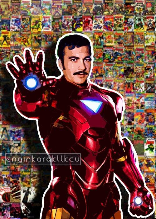Yeşilçam Karakterlerinin Süper Kahramana Dönüştüğü 14 Photoshop Çalışması 69