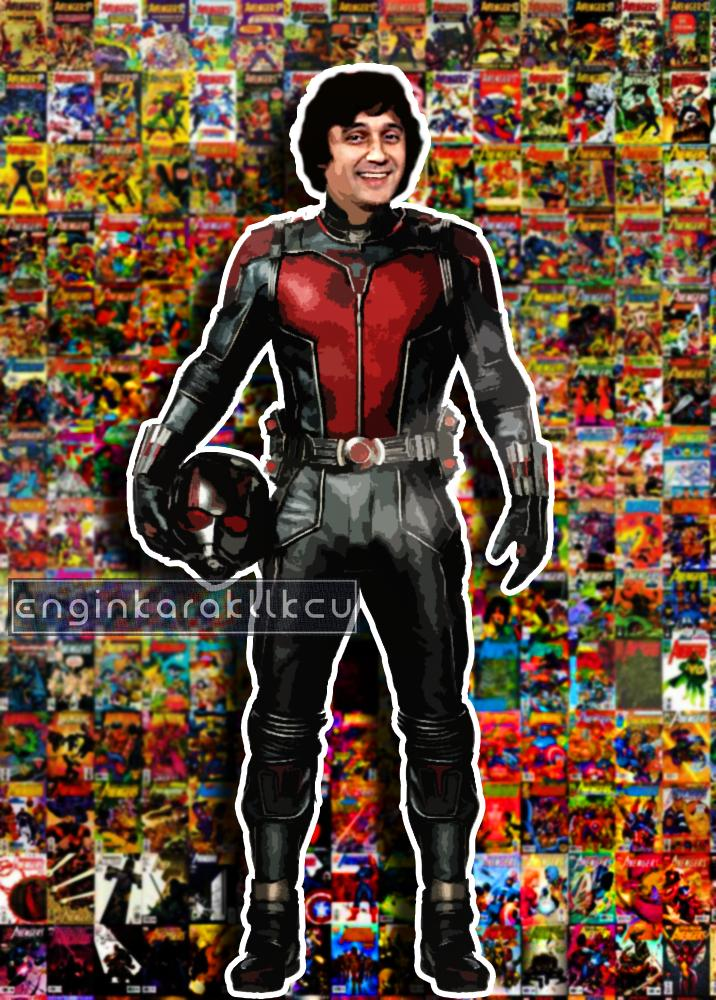 Yeşilçam Karakterlerinin Süper Kahramana Dönüştüğü 14 Photoshop Çalışması 62