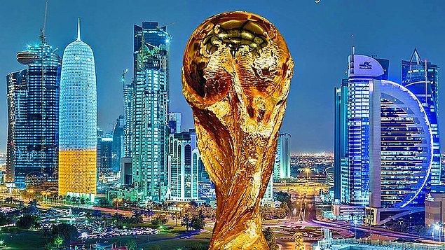 6. 2022 FIFA Dünya Kupası Katar'da yapılacak.