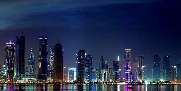 10. Kişi başına düşen milli gelirde Katar dünyada bir numara.