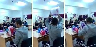 Beden Eğitimi Öğretmeninin Muhteşem Karne Dağıtma Şekli