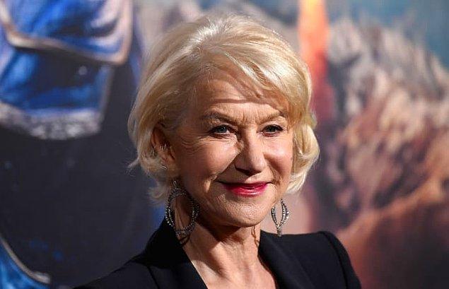 19. Helen Mirren