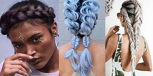 Saçlarında Sezonun Trendine Yer Vermek İsteyenler İçin 21 Sıra Dışı Örgü Modeli