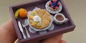 Minyatür Mutfak Kullanan Aşçıdan, Yemeyip Yanında Yatmak İsteyeceğiniz 10 Ağız Sulandıran Yemek