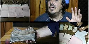 Milyoner Dilenci: Üzerinden 28 Bin, Bankadan 450 Bin Lirası Çıktı